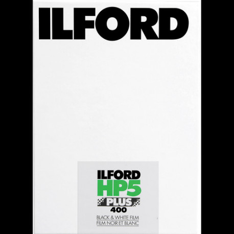 Ilford 1629172 HP5 Plus 400 B&W Film 25/4x5In