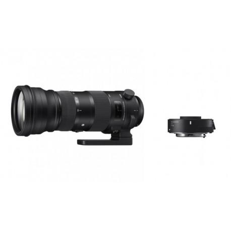 обектив Sigma 150-600mm f/5-6.3 DG OS HSM S за Canon EF + converter Sigma TC-1401 (1.4x) за Canon EF