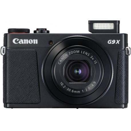 Canon PowerShot G9X MARK II (черно) + оригинален калъф Canon