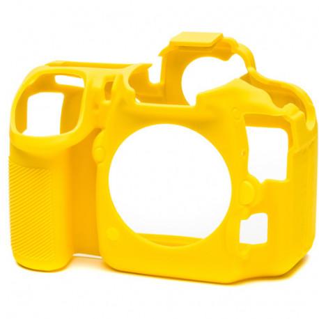 EasyCover ECND500Y - силиконов протектор за Nikon D500 (жълт)