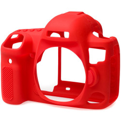 Accessory EasyCover ECC5D4R Silicone Protector for Canon 5D MARK IV (Red)