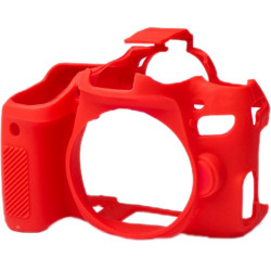 Accessory EasyCover ECC77DR - for Canon 77D (red)