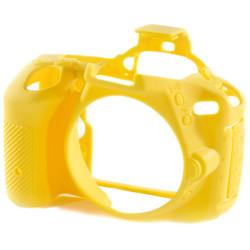 EasyCover ECND5500Y - силиконов протектор за Nikon D5500/D5600 (жълт)