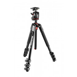 Tripod Manfrotto 190XPRO4 4 section tripod with Xpro BHQ2 apple head