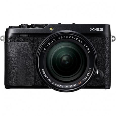 фотоапарат Fujifilm X-E3 + обектив Fujifilm XF 18-55mm f/2.8-4 R LM OIS