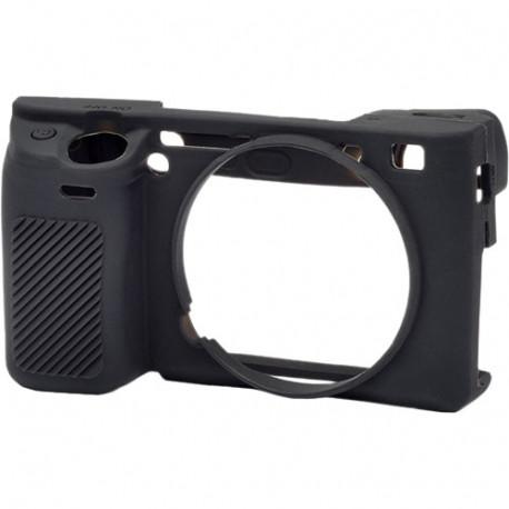 EasyCover ECSA6300B - силиконов протектор за Sony A6000/A6100/A6300/6400 (черен)