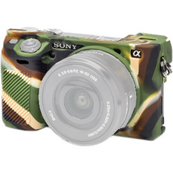 EasyCover ECSA6300C - Silicone Protector for Sony A6000 / A6300 / 6400 (Camouflage)