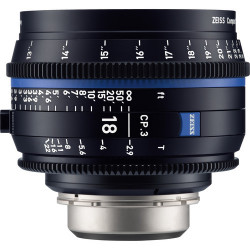 обектив Zeiss CP.3 18mm T/2.9 Compact Prime - PL