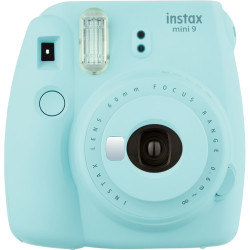 Instant Camera Fujifilm instax mini 9 Instant Camera Ice Blue + Film Fujifilm Instax Mini ISO 800 Instant Film 10 pcs.