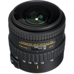 обектив Tokina 10-17MM F/3.5-4.5 DX FISHEYE WITHOUT HOOD за NIKON