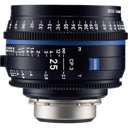 обектив Zeiss CP.3 25mm T/2.1 Compact Prime - PL