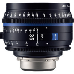 обектив Zeiss CP.3 35mm T/2.1 Compact Prime - PL