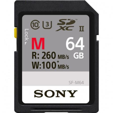 Sony SDHC 64GB UHS-II U3 V60 SF-M64/T