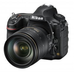 Nikon D850 + обектив Nikon 24-120mm f/4 VR + раница Thule TCDK-101 + карта SanDisk 64GB Extreme PRO SDXC
