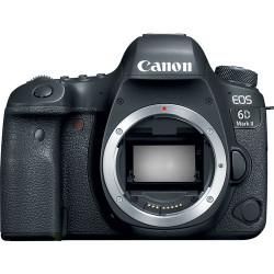 DSLR camera Canon EOS 6D Mark II + Lens Canon EF 16-35mm f/2.8L USM III + Backpack Canon SL100 Sling (черен)