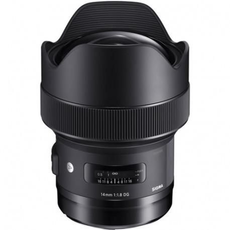 Sigma 14mm f/1.8 DG HSM Art за Canon EF