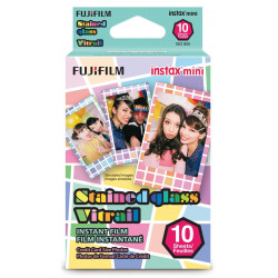 Fujifilm Instax Mini Stained Glass Instant Film 10 pcs.