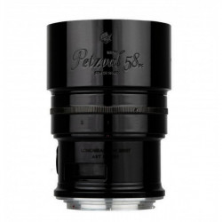 обектив Lomo Petzval 58mm F/1.9 Черен за Canon