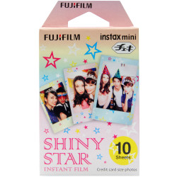 Fujifilm Instax Mini Shiny Star Instant Film 10 pcs.