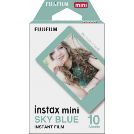 Fujifilm Instax Mini Sky Blue Instant Film 10 pcs.