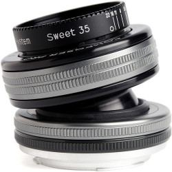 обектив Lensbaby Composer Pro II with Sweet 35 Optic - Canon EF