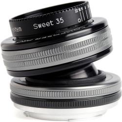 обектив Lensbaby Composer Pro II with Sweet 35 Optic - Canon EF