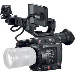 Camera Canon EOS C200 CINEMA + Lens Canon CN-E 18-80mm T4.4 Compact-Servo Cinema Zoom - EF Mount + Battery Canon BP-A60 Battery Pack
