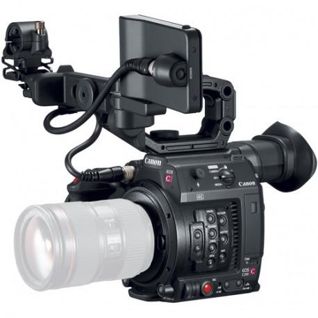 камера Canon EOS C200 CINEMA + обектив Canon CN-E 18-80mm T4.4 Compact-Servo Cinema Zoom - EF Mount