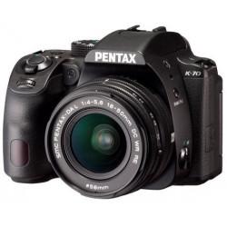 PENTAX K-70 + 18-50MM WR KIT + 35MM F/2.4