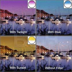 филтър Lee Filters Colour Grad Set