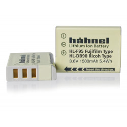 Battery Hahnel HL-F95 equivalent to Fujifilm NP-95