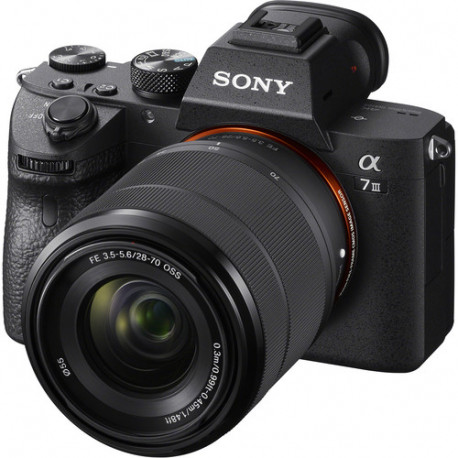 фотоапарат Sony A7 III + обектив Sony FE 28-70mm f/3.5-5.6