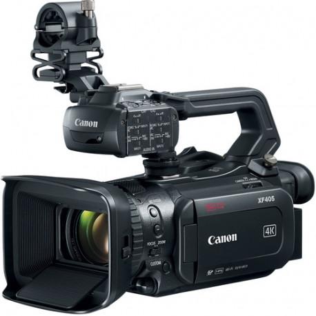 камера Canon XF405 + батерия Canon BP-828 Battery Pack + зарядно у-во Canon CG-800E