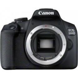 фотоапарат Canon EOS 2000D + обектив Canon EF-S 10-18mm f/4.5-5.6 IS STM