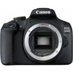 DSLR camera Canon EOS 2000D + Lens Canon EF-S 55-250mm f / 4-5.6 IS STM