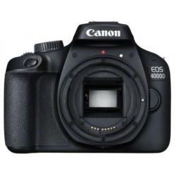 фотоапарат Canon EOS 4000D + обектив Canon EF-S 18-55mm F/3.5-5.6 DC III