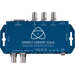 Connect Convert Scale - Analog to SDI/HDMI