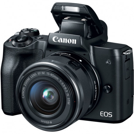 Canon EOS M50 + обектив Canon EF-M 15-45mm f/3.5-6.3 IS STM + карта Lexar Professional SD 64GB XC 633X 95MB/S