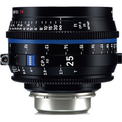 обектив Zeiss CP.3 XD 25mm T/2.1 Compact Prime - PL