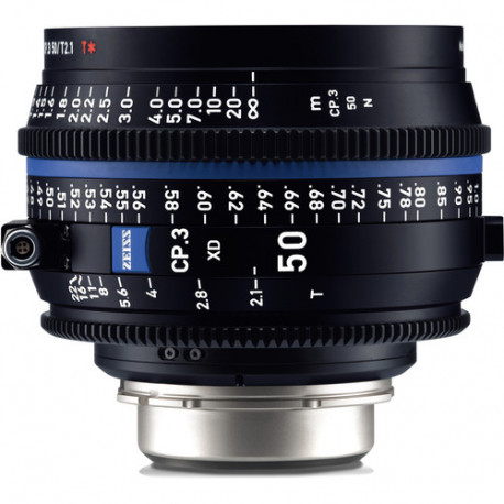 Zeiss CP.3 XD 50mm T / 2.1 Compact Prime - PL