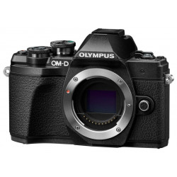 фотоапарат Olympus E-M10 III OM-D + обектив Olympus ZD Micro 14-42mm f/3.5-5.6 EZ ED MSC (черен)