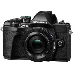 OLYMPUS OM-D E-M10 MARK III BLACK+14-42MM EZ+40-150MM F/4-5.6 ED R MSC BLACK