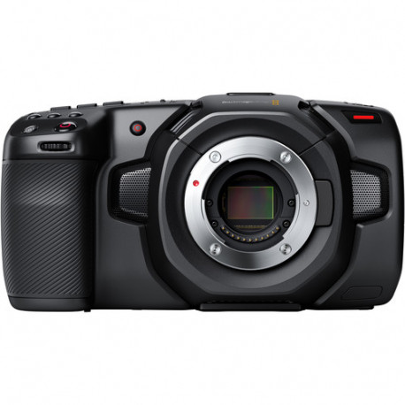 камера Blackmagic Pocket Cinema Camera 4K + обектив Olympus 7-14mm f/2.8 PRO Micro