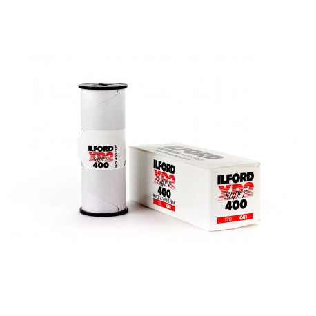 Ilford 1839649 XP2 Super 400 B&W Film 120 C41
