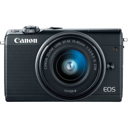 CANON EOS M100 BLACK+15-45MM KIT+22MM F/2 STM