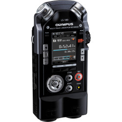 Audio recorder Olympus LS-100 Camera Connection Kit + Accessory Olympus OLYMPUS WJ-4 REDUCE WIND NOISES SIGNIFICANTLY