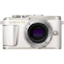 фотоапарат Olympus PEN E-PL9 (бял) + обектив Olympus ZD Micro 14-42mm f/3.5-5.6 EZ ED MSC (сребрист)
