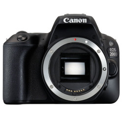 фотоапарат Canon EOS 200D + обектив Canon EF-S 55-250mm f/4-5.6 IS STM