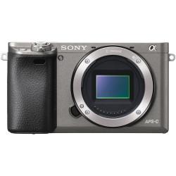 фотоапарат Sony A6000 (графит) + обектив Sony SEL 16-50mm f/3.5-5.6 PZ OSS (черен)