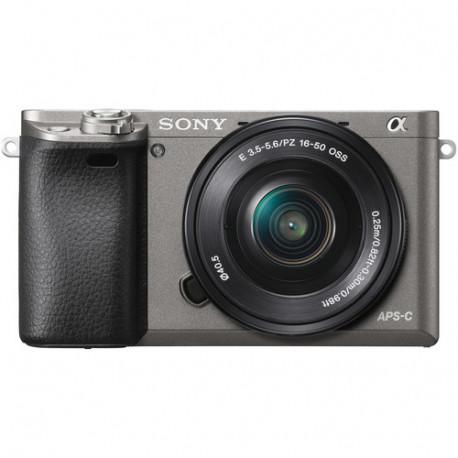 Sony A6000 (графит) + Lens Sony SEL 16-50mm f/3.5-5.6 PZ + Lens Sony FE 50mm f/1.8